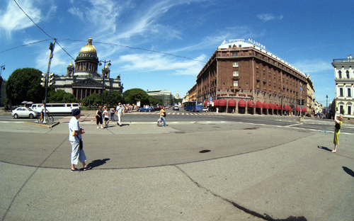 St. Isaac's square, Saint-Petersburg /008