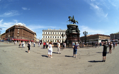 St. Isaac's square, Saint-Petersburg /010